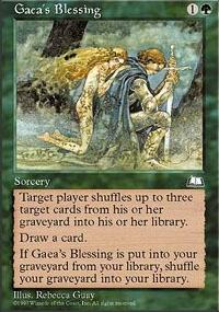 Gaea's Blessing - Weatherlight