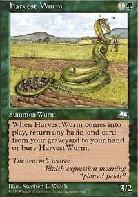 Harvest Wurm - Weatherlight