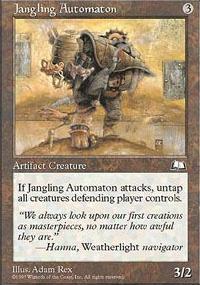 Jangling Automaton - Weatherlight