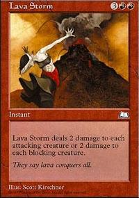Lava Storm - Weatherlight