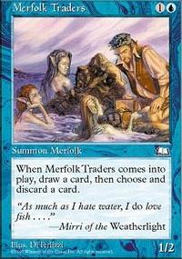 Merfolk Traders - Weatherlight