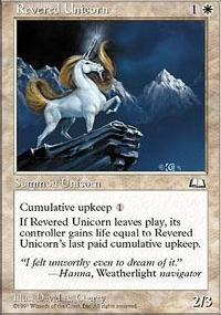 Revered Unicorn - Weatherlight