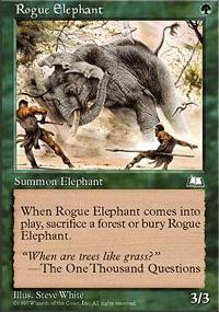 Rogue Elephant - Weatherlight