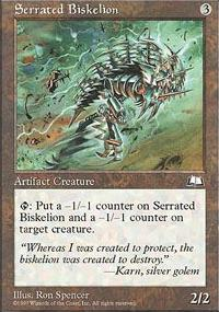 Serrated Biskelion - Weatherlight