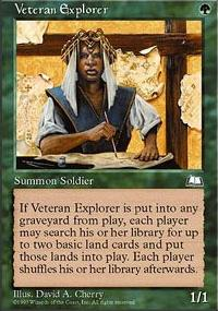 Veteran Explorer - Weatherlight