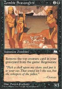 Zombie Scavengers - Weatherlight