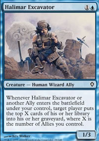 Halimar Excavator - Worldwake