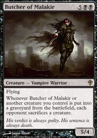 Butcher of Malakir - Worldwake