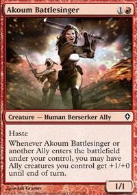 Akoum Battlesinger - Worldwake
