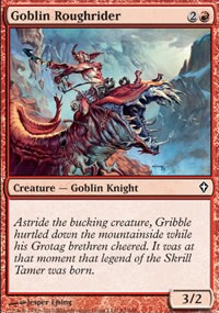 Goblin Roughrider - Worldwake