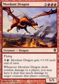 Mordant Dragon - Worldwake