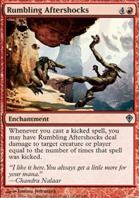 Rumbling Aftershocks - Worldwake