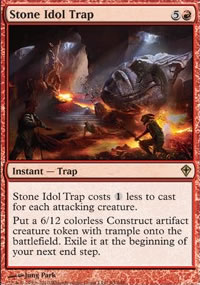 Stone Idol Trap - Worldwake