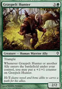 Graypelt Hunter - Worldwake