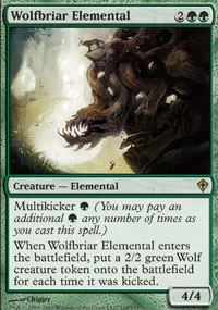 Wolfbriar Elemental - Worldwake