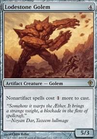 Lodestone Golem - Worldwake