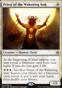 Priest of the Wakening Sun - Ixalan