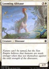 Looming Altisaur - Ixalan