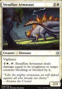 Steadfast Armasaur - Ixalan
