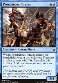 Prosperous Pirates - Ixalan