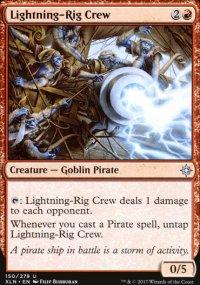 Lightning-Rig Crew - Ixalan