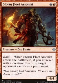 Storm Fleet Arsonist - Ixalan