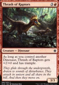 Thrash of Raptors - Ixalan
