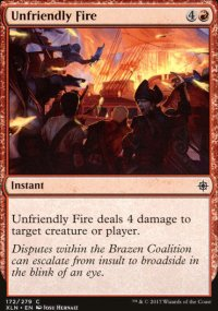 Unfriendly Fire - Ixalan