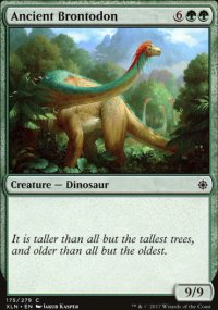 Ancient Brontodon - Ixalan