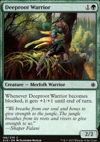 Deeproot Warrior - Ixalan