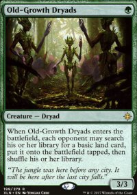 Old-Growth Dryads - Ixalan