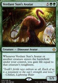 Verdant Sun's Avatar - Ixalan
