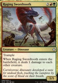 Raging Swordtooth - Ixalan