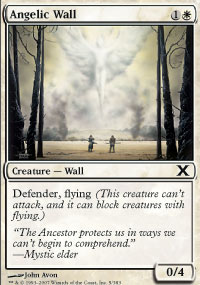 Angelic Wall - 10th Edition