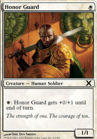 Honor Guard - 10th Edition
