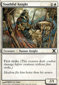 Youthful Knight - 10th Edition