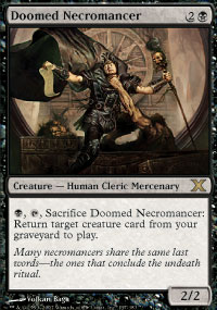 Doomed Necromancer - 10th Edition