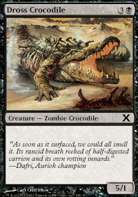 Dross Crocodile - 10th Edition