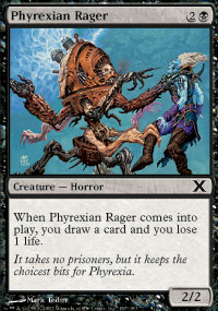 Phyrexian Rager - 10th Edition
