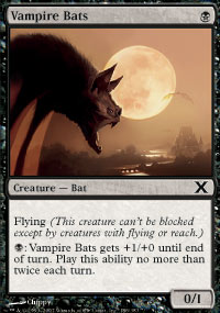 Vampire Bats - 10th Edition