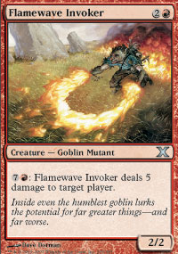 Flamewave Invoker - 10th Edition