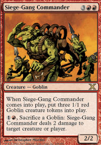 Siege-Gang Commander - 10th Edition