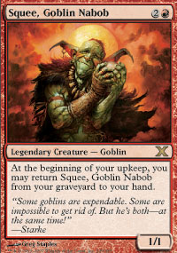 Squee, Goblin Nabob - 10th Edition