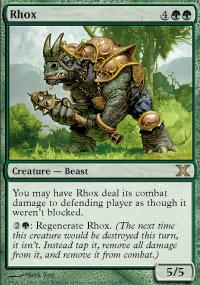 Rhox - 10th Edition