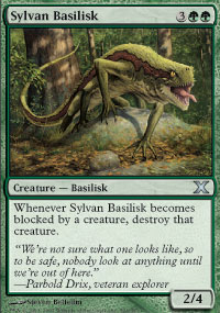 Sylvan Basilisk - 10th Edition