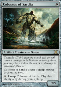 Colossus of Sardia - 10th Edition