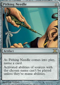 Pithing Needle - 10th Edition