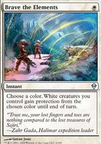 Brave the Elements - Zendikar