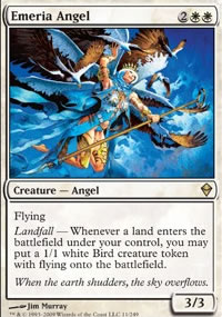 Emeria Angel - Zendikar