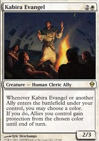 Kabira Evangel - Zendikar